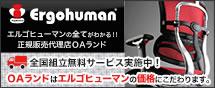 Ergohuman 送料無料 ポイント10倍